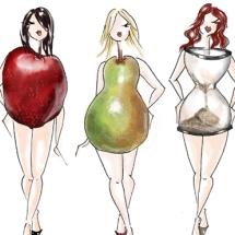 Груша, яблоко, часы… Фитнес и тип фигуры