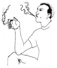 Дым выпускается вверх: уверенность, превосходство, позитив