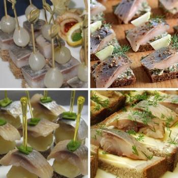 бутерброды канапе рецепты с фото для фуршета