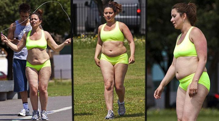 Похудел от бега