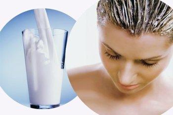 Увлажняющая маска из кефира для волос