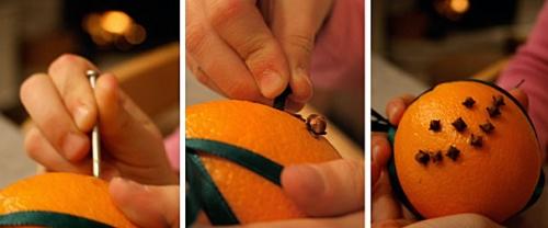 Как сделать ароматизатор из апельсина своими руками