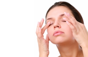Массаж глаз для улучшения зрения