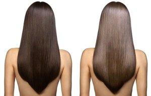 Ламинированные волосы в домашних условиях. Косметика