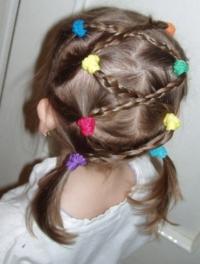 Как сделать причёску для девочки 9 лет