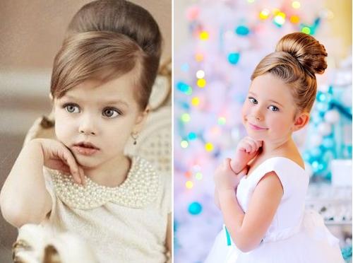 Прически для фотосессии для детей